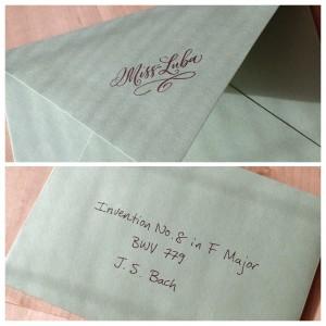 an innocent looking envelope